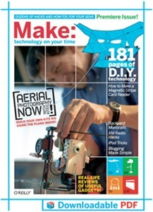 Make Magazine now available in DRM-free PDF   TeleRead News