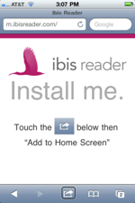 Sm voiceover ibis add to home