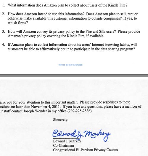 legal letter amazon