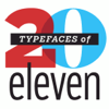 Typefaces of 2011 140x140