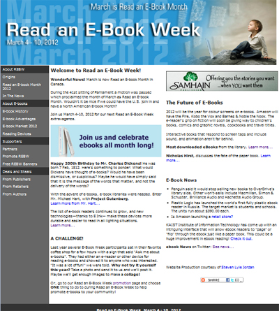 Read an E-Book Week 2012