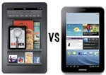 Kindle fire vs galaxy tab 2