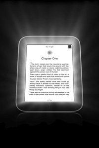 Nook simple touch glowLight front
