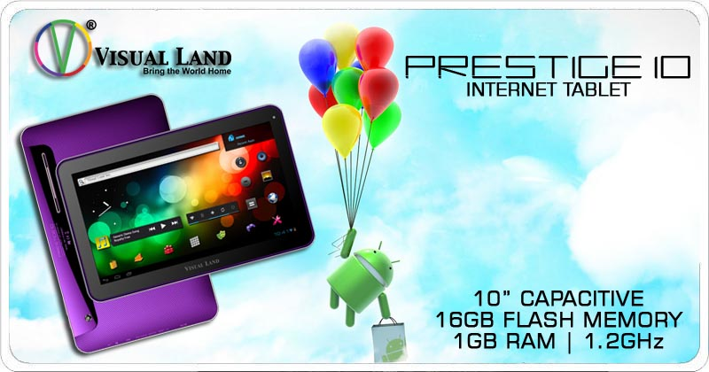 the teleread review visual land prestige 10 internet tablet rh teleread com Prestige 10 Tablet Visual Land Prestige 10 Accessories