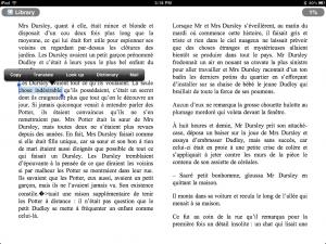 Reading in French: An app vs  Kindle showdown! | TeleRead