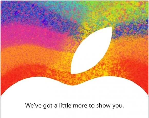 Apple media event on Oct 23, 2012