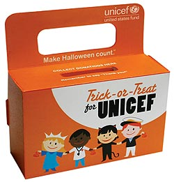 Trick-or-Treat for UNICEF box