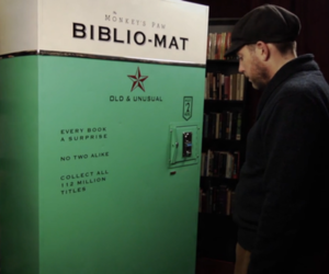 BIBLIO-MAT, a vending machine for used books