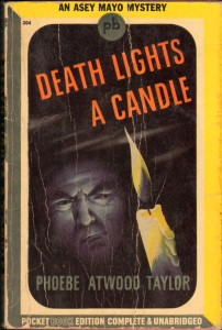 Death Lights a Candle, Phoebe Atwood Taylor, 1943