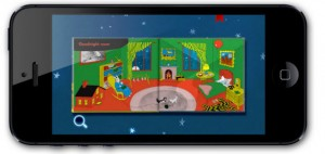 Goodnight Moon app for iPhone