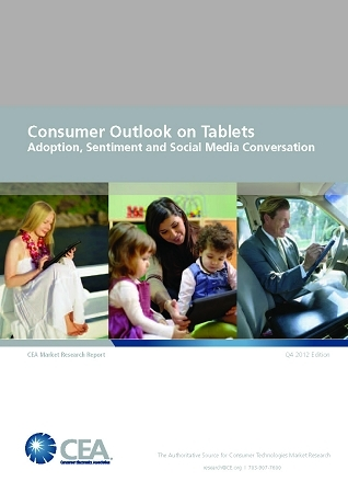 CEA Report Consumer Outlook on Tablets
