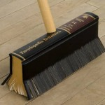 Encyclopedia recycled as a handy broom