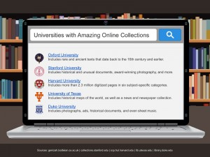 10 Universities with Amazing Online Collections