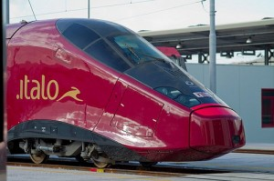 Italo high-speed Italian train