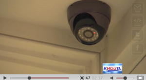 the homeowner's dome camera