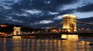From Buda to Pest: The Chain Bridge