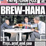 New York Post Obama Gates Beer Summit