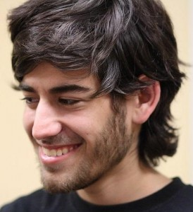 Aaron Swartz at Boston Wikipedia Meetup August 2009