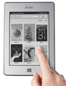 Amazon Kindle Touch software update