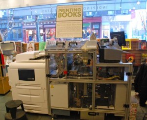 The Espresso Book Machine 2.0 at McNally Jackson Books in Manhattan