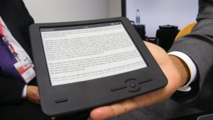 Bendable e-reader with an E Ink display