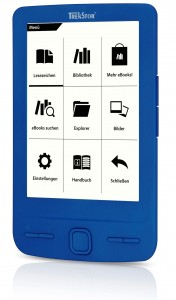 TrekStor Pyrus Mini eBook Reader blue