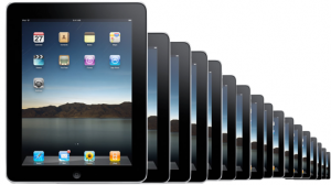 lots of Apple iPads