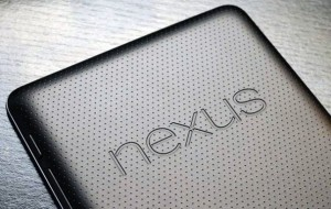 Asus Google Nexus 7 tablet dimpled back