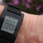 Pebble Watch photo email and alerts