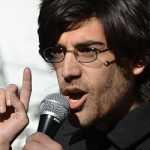 Aaron Swartz speaking at PIPA rally