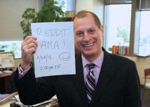 CEA president and CEO Gary Shapiro Reddit AMA Ask Me Anything