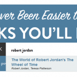 Bookish search on Robert Jordan