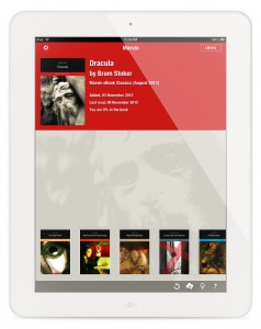 Marvin e-reader app for iPad