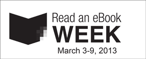 Read an E-Book Week logo