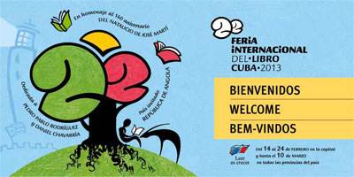 22nd International Book Fair Havana Cuba