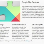Google Play Services page