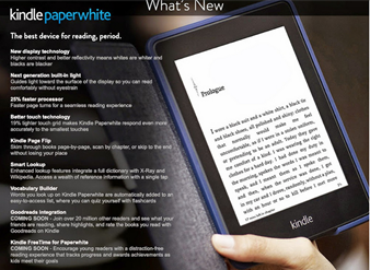 Amazon Paperwhite