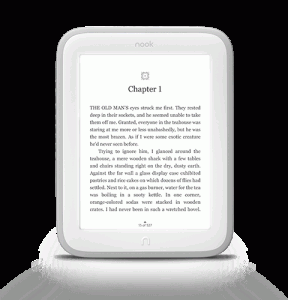 new update for nook glowlight