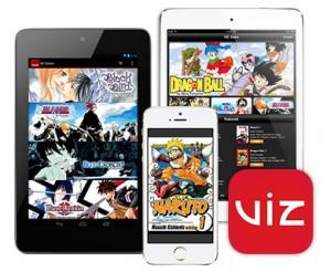 reading manga on tablets