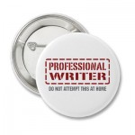 professional vs non-professional writer