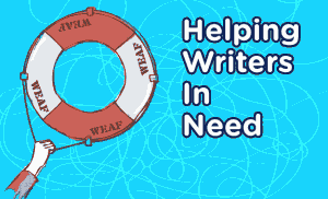 helping writers in need