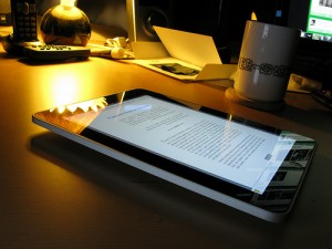 android tablet into ereader
