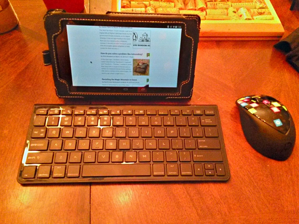 You Can Use A Bluetooth Mouse With Your Android Tablet Teleread News E Books Publishing Tech And Beyond