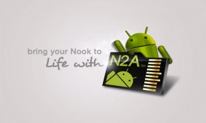n2a card on nook hd