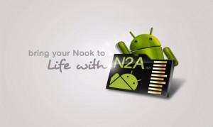 n2a card on nook hd