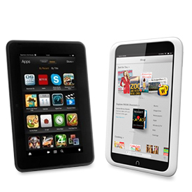 nook vs amazon