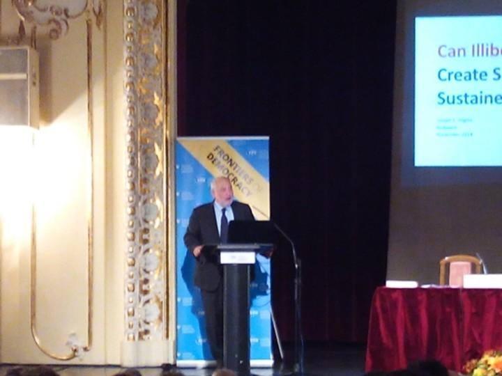Joseph Stiglitz at CEU 2014