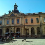 Stockholm, sunshine, Swedish literature, Strindberg, … and Nobel Prizes