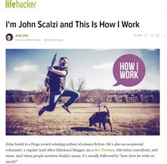 I'm John Scalzi and This Is How I Work