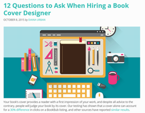 12 Questions to Ask When Hiring a Book Cover Designer